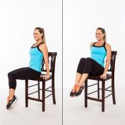 Chair Workout - Quick Chair Exercises (70)
