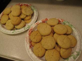 Some of the smaller/darker cookies are hidden under the nicer ones.
