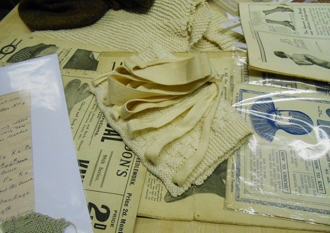 Early Knitting Patterns And Historical Reproductions By Joyce Meader, Presentation At The Knitting History Forum Conference 2014. Photo By I N Eliatamby