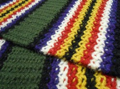 Detail Of A Reproduction By Joyce Meader, Knitting History Forum Conference 2014. Photo By I N Eliatamby