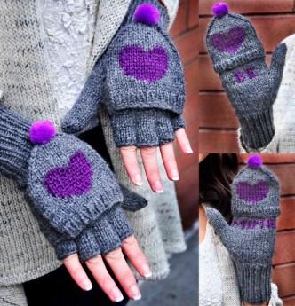 be my valentine fingerless gloves knitting pattern be mine 5