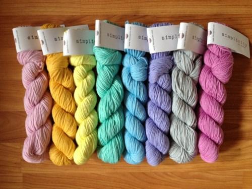 hikoo simplicity rainbow of yarn