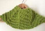 Knit Herringbone Cowl