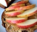 Apple and PB Toast