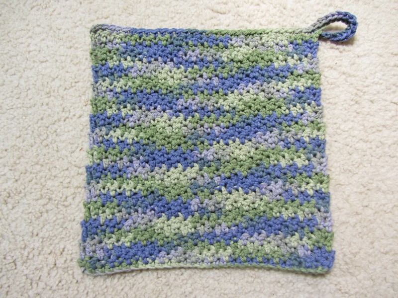 crocheted washcloths are fun!