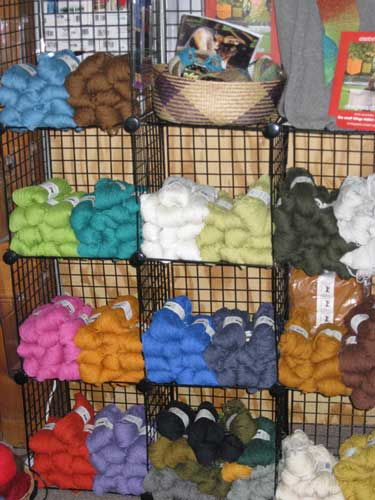 silky wool - new colors