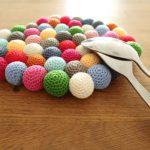 Crochet Potholder Free Pattern Candy Potholder Knitting With Chopsticks