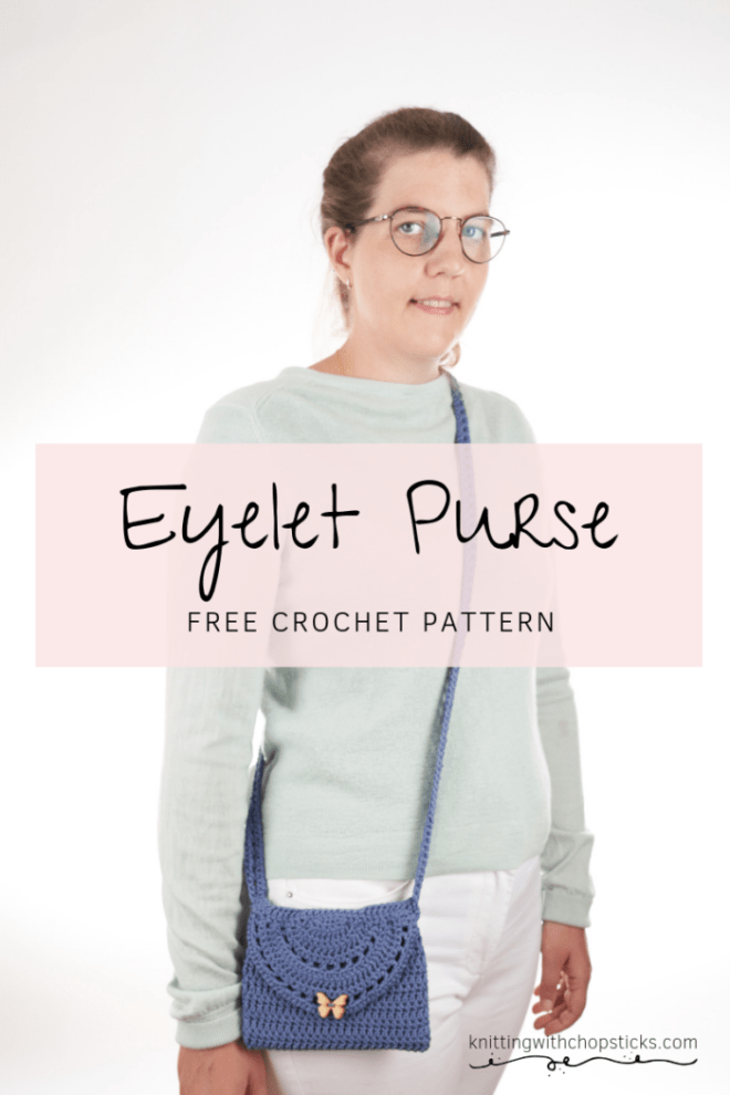 Eyelet Purse Free Crochet Bag Pattern