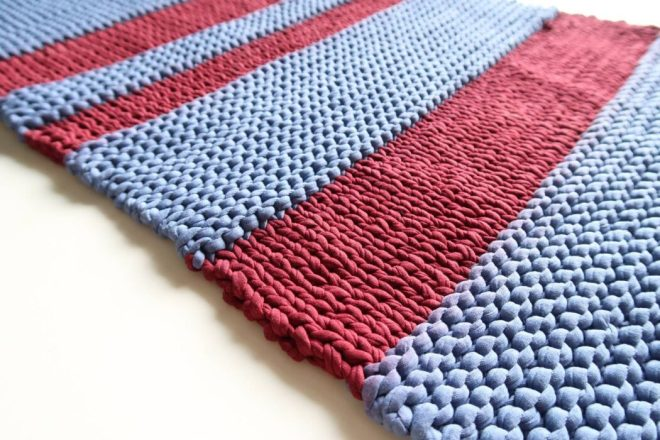 knit bath mat pattern finalised