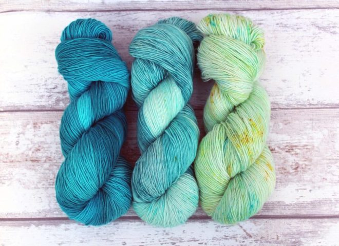 Indie dyed yarn, crafters will drool over this gift idea