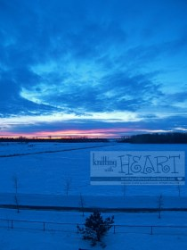 snowy sunsets ❤ #12