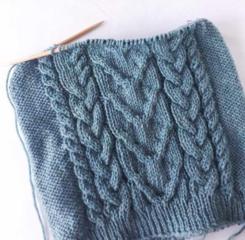 Fixing Knitting Mistakes By Laddering Down Knittle And Pearl