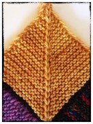 "Block #80 - Hazel Knits Artisan Sock in ""Hoppy Blonde"""