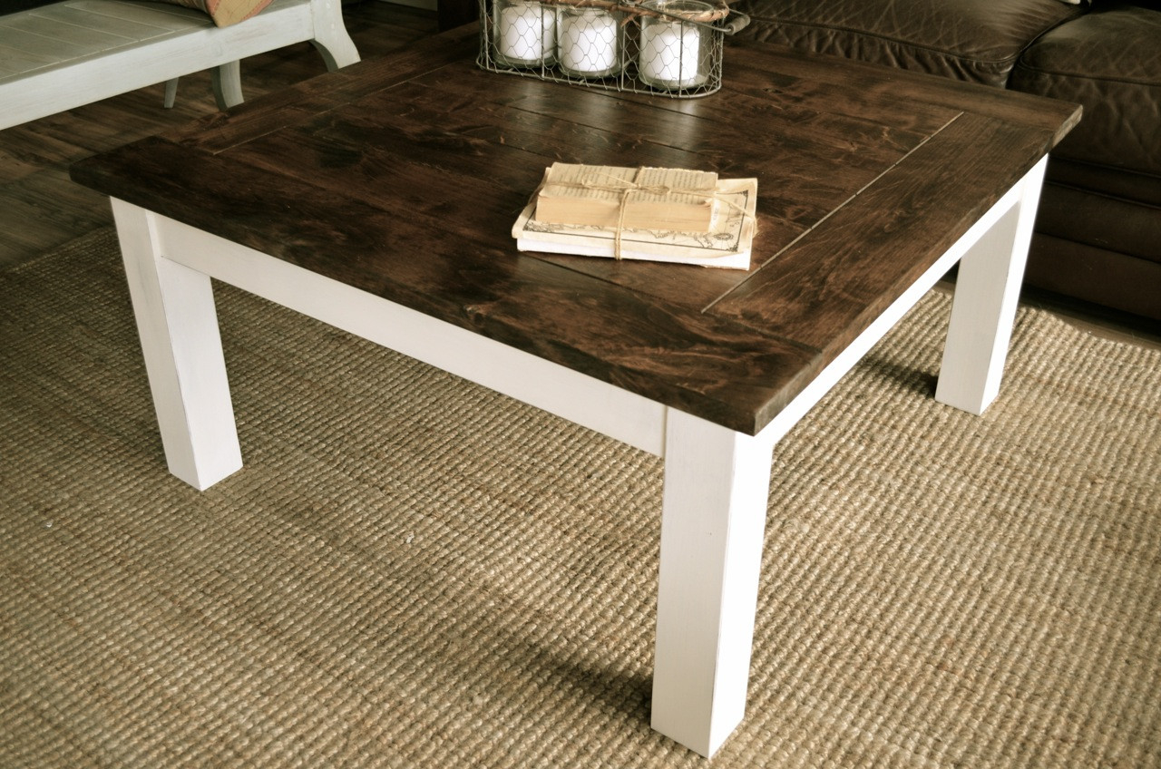 9 Antique White Distressed Coffee Table Ideas