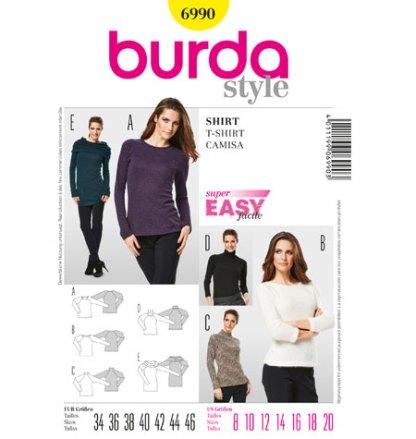 Burda-Style-6990-Shirt