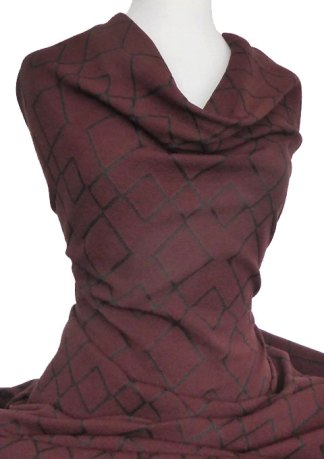 Jacquard-Knit-Tiles-Burgundy-Black