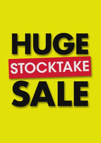 Huge Stocktake Sale