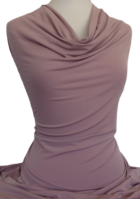 Knitwit Jersey Knit Fabric Casino Misty Rose