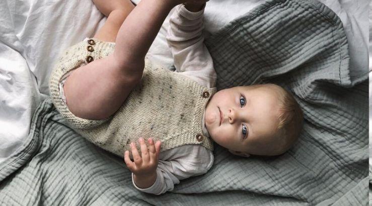 Little Sister's Romper by Petite Knit