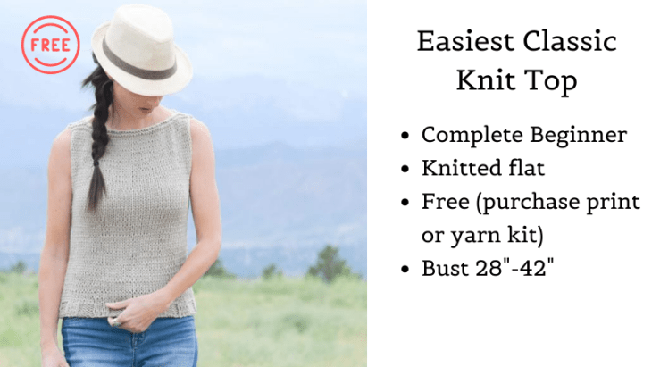 Easiest Classic Knit Top