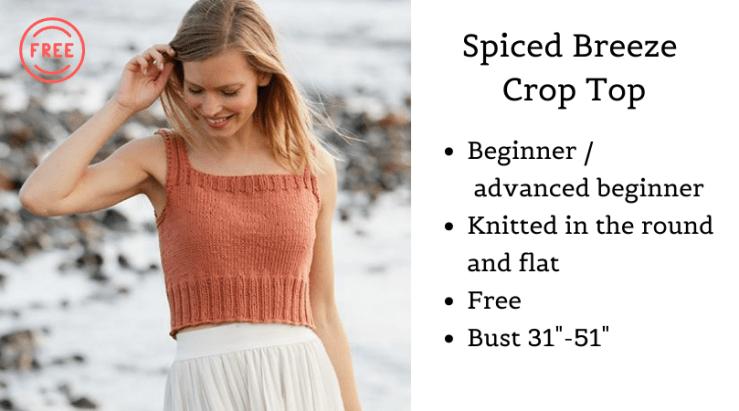 Spiced Breeze Crop top