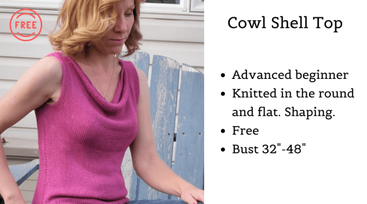 Cowl Shell Top