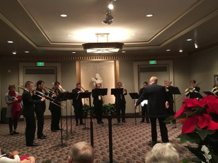 Trombone Choir at Chimes of Christmas