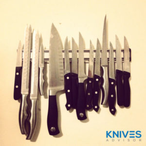 kitchen knives storaging tips