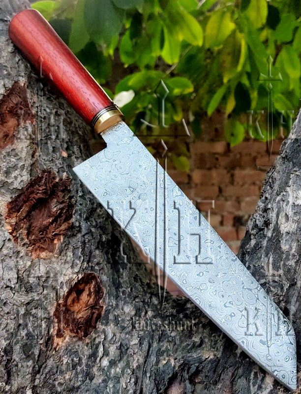 12 inches Damascus steel chef knife