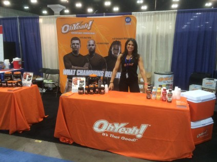 Oh Yeah! Nutrition Fitness Expo Los Angeles California