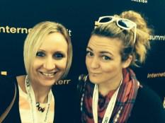 Kristen Miller and Saskia Dietrich Internet Summitt