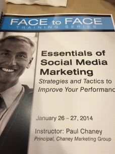 Charlotte American Marketing Association - Essentials of Social Media Marketing Workshop by Paul Chaney