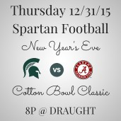 MSU New Years Eve Football Cotton Bowl Classic