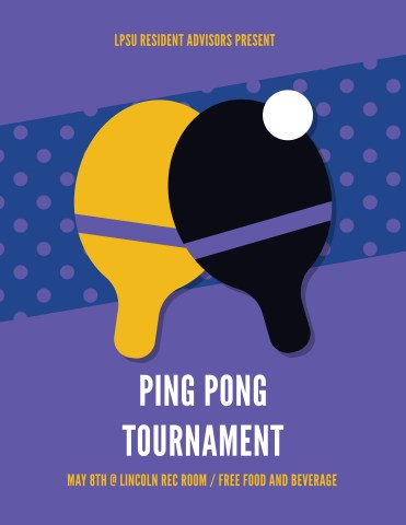 Ping Pong Tournament Flyer Poster Adobe Illustrator Tutorial