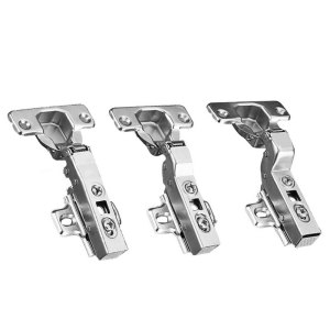 Hinge Stainless Steel Hydraulic Cabinet Door Hinges Damper Buffer Soft Close Kitchen Cupboard Furniture Full/Embed