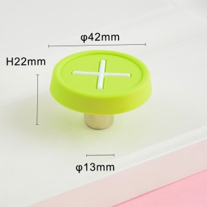 8 Color Children's Furniture Handle Cabinet Shoe Cabinet Door Handle Anti-collision Drawer Handle