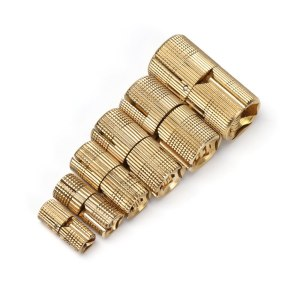 Copper Brass Furniture Hinges 8-18mm Cylindrical Hidden Cabinet Concealed Invisible Door Hinges For Hardware Gift Box