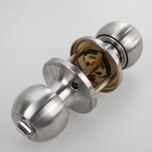 Hot Sale High Quality Stainless Steel Round Door Knobs Knob Handle Internal Round Door Knobs Entrance Passage Lock With Key