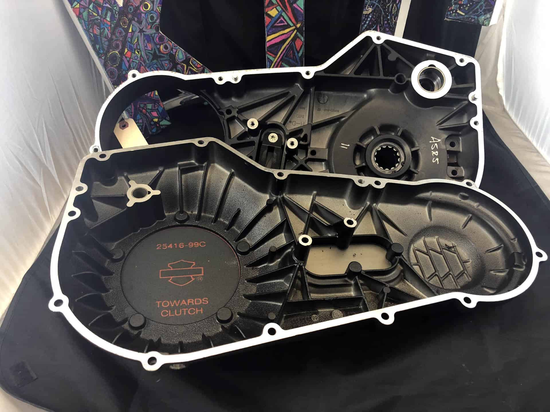 Black Inner and Outer Primary for 94 to 06 Softails used image 3