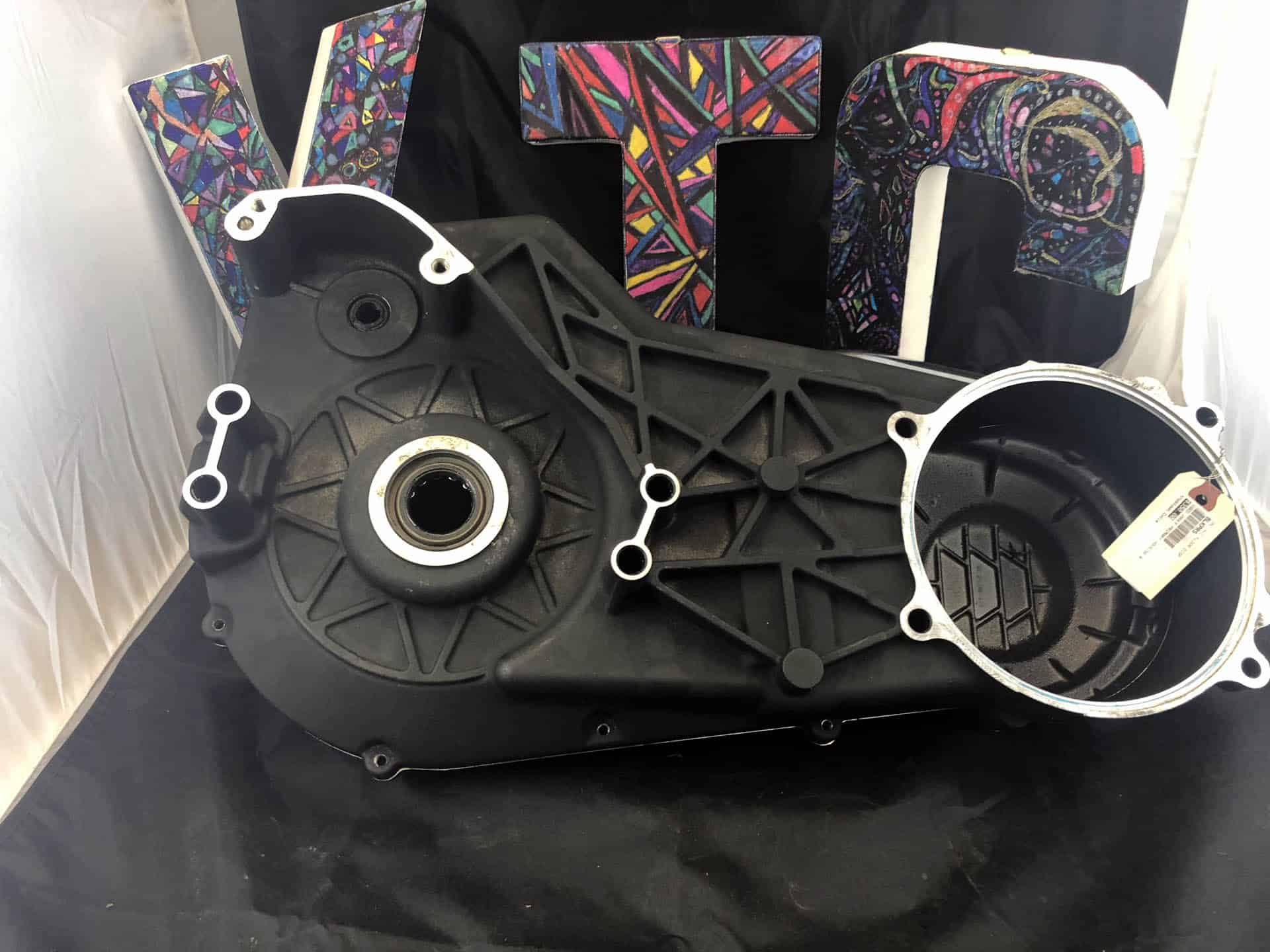 Black Inner and Outer Primary for 94 to 06 Softails used image 2