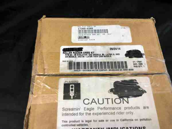 Genuine Harley-Davidson Rocker Arm Set 17360-83A