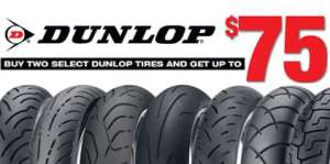 Dunlop Rebates at Knobtown Cycle