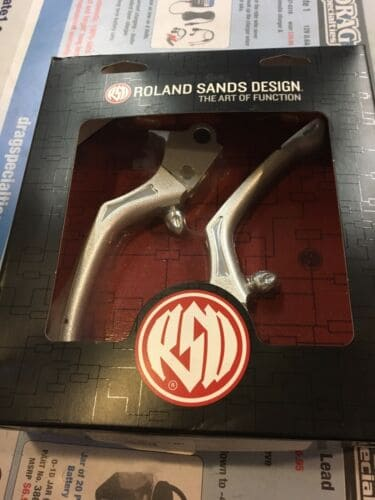 Roland Sands Regulator Levers #0062-4006-SMC