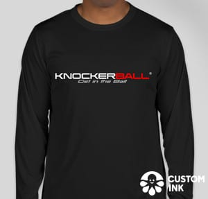 Knockerball® Get In The Ball Long Sleeve Shirt