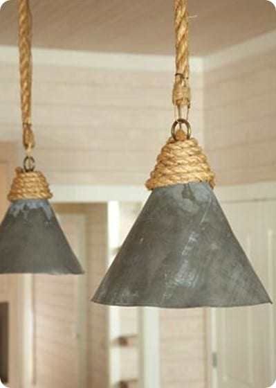 Rustic Industrial Light Fixtures