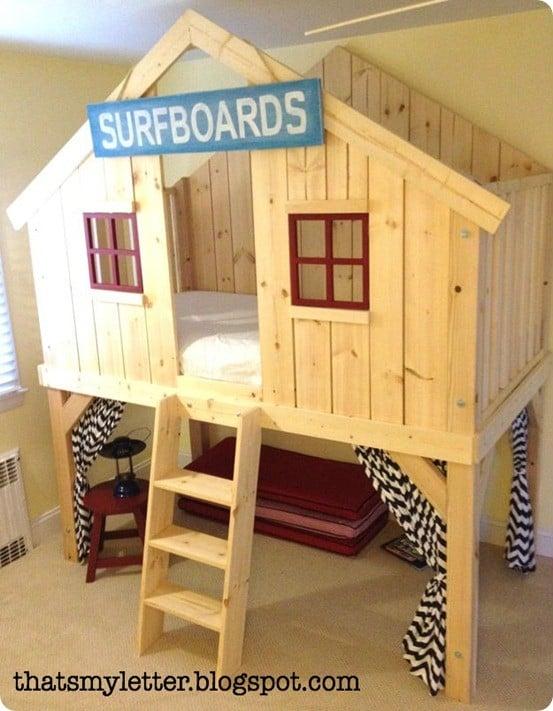 Woodwork Diy Kids Beds Plans Pdf Plans