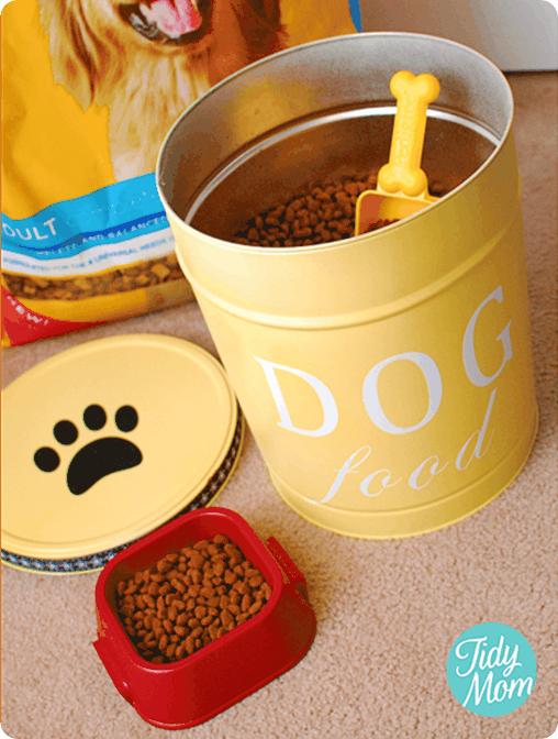 Pet Food Storage Tin Knockoffdecor Com