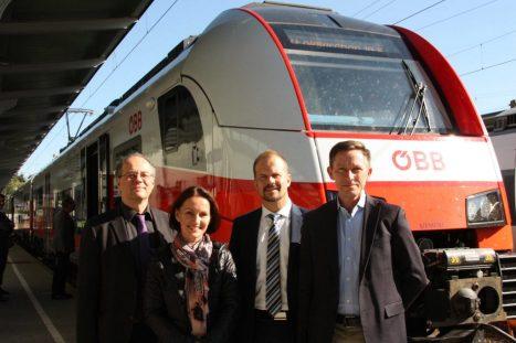 Referent auf der Regionalbahntagung Klimabündnis 2015