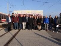 Exkursion mit der Masterklasse Bahntechnologie und Management von Bahnsystemen 2016
