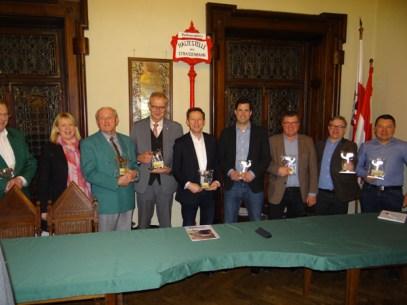 Auszeichnung im Rathaus von Gmunden für 27 Jahre Überzeugungsarbeit